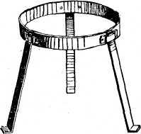 а – регулируемая цепь; б – крючок; в – фигурные крючки;