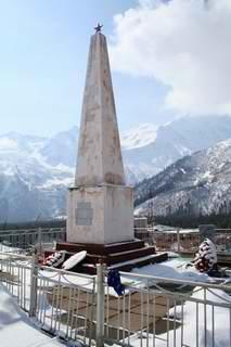 Памятник воинам-освободителям в Терсколе